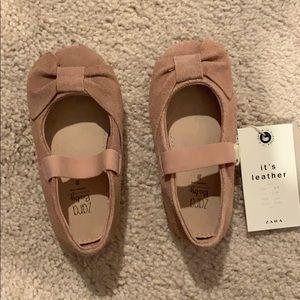 Pink Zara kids shoes